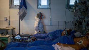 koronavírus intenzív osztály kórház járvány covid
