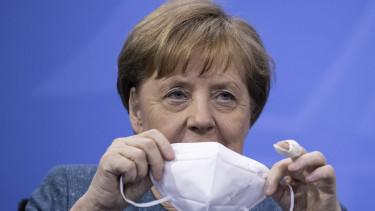 koronavírus járvány angela merkel németország maszk