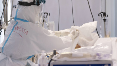 koronavírus járvány beteg kórház