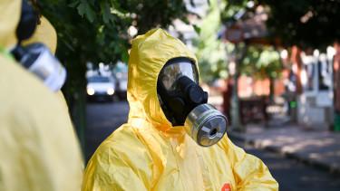 koronavírus járvány budapest