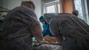 koronavírus járvány kórház beteg