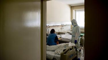 koronavírus járvány kórház covid