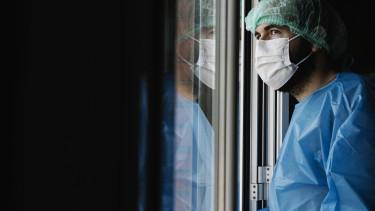 koronavírus járvány kórház egészségügy