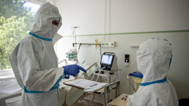 koronavírus járvány kórház korányi