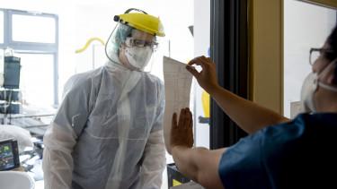 koronavírus járvány kórház szent lászló