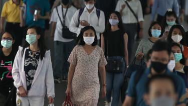 koronavírus járvány maszk