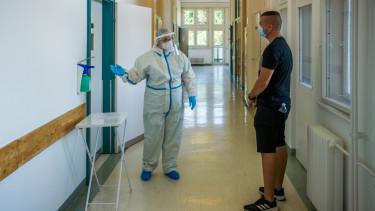 koronavírus járvány teszt