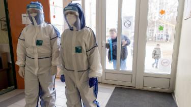 koronavírus járvány tesztelés