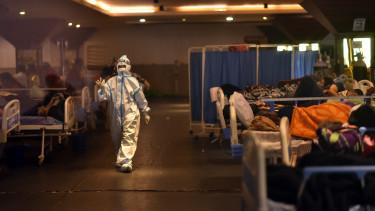 koronavírus kórház járvány india