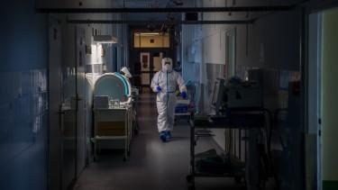 koronavírus kórház magyar mti
