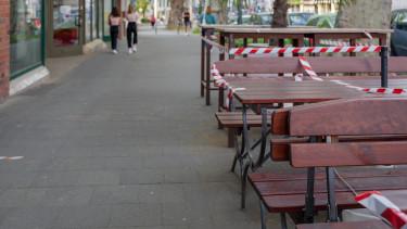 koronavírus korlátozás vendéglátó getty stock