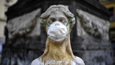 koronavírus maszk