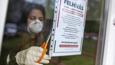 koronavírus maszk felhívás idősek járvány
