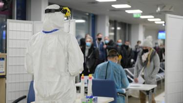 koronavírus maszk járvány teszt