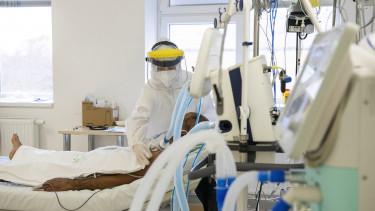 koronavírus osztály beteg orvos járvány kórház
