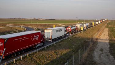 koronavirus románia kamion