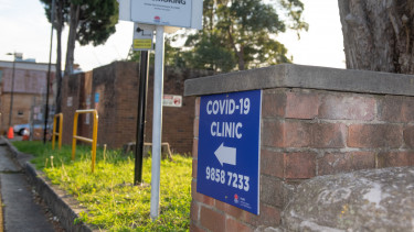 koronavírus sydney getty editorial