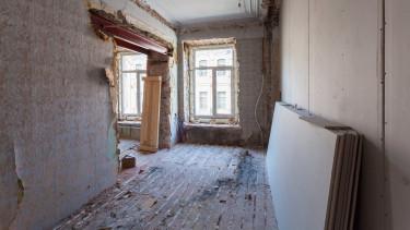 lakásfelújítás romos lakás