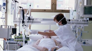 lélegeztetőgép, kórház beteg