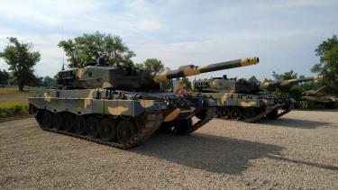 leopard 2a4hu honvédség tank hadsereg