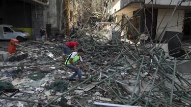 libanon robbanás