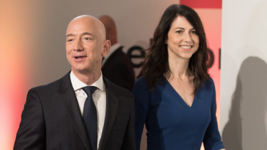 mackenzie bezos getty editorial