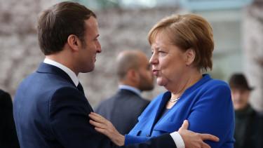macron merkel német francia