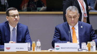 magyar lengyel veto kozos nyilatkozat orban viktor mateusz morawieczki budapest 201126