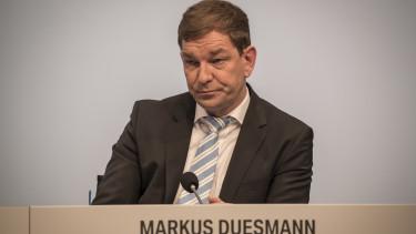 markus duesmann audi autóipar németország