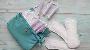 menstruáció tampon betét getty stock