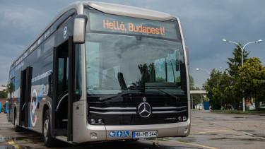 mercedes busz budapest elektromos forrás facebook bkk