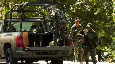 mexikói katonák