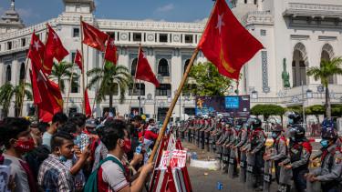 mianmar katonasag tuntetok