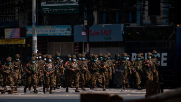 mianmar puccs hadsereg