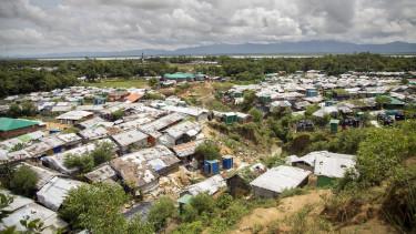Mianmar rohingya menekülttábor