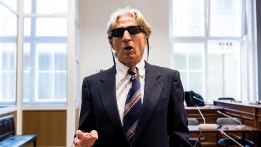 Michael Jauernik bankrabló tárgyalásán