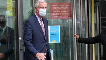 Michel Barnier brexit targyalasok osszeomlas van remeny 200911