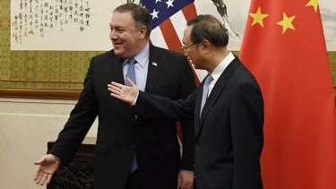 Mike Pompeo és Yang Jiechi