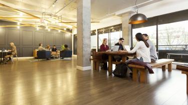 modern iroda dolgozók