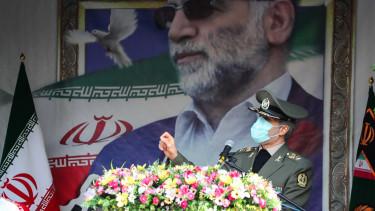 Mohszen Farizade temetés irán atomtudós merénylet izrael atomfegyver
