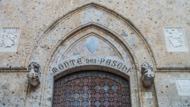 monte dei paschi getty stock