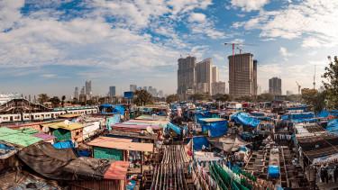mumbai india nyomornegyed