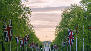 nagy britannia buckingham palota