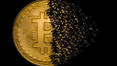 Nagyot esett a bitcoin, egyre távolabb a 10 ezer dollár