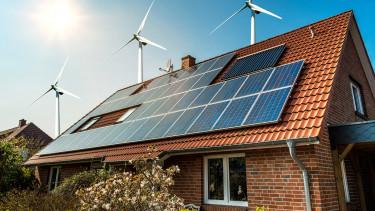 napelem ház megújuló energia
