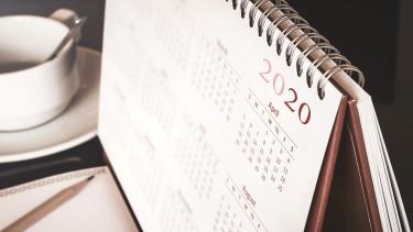 naptár 2020