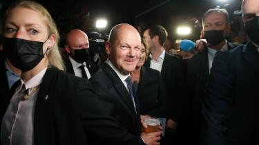 német választás 2021 olaf scholz spd