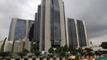 Nigériai jegybank épülete. Fotó: Getty