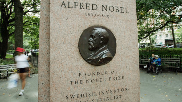 nobel díj getty editorial