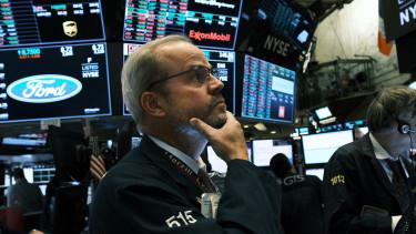 NYSE, trader, broker, válság